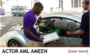 Actor Aml Ameen