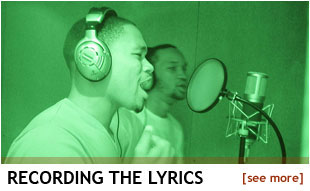 Recording the Lyrics